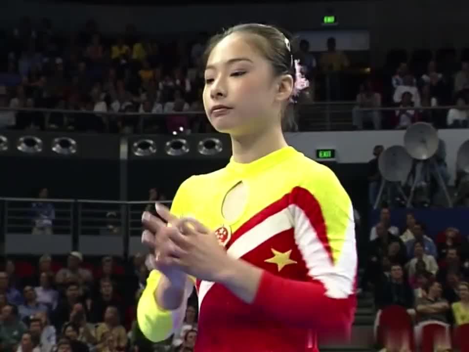 奥运经典:2000年悉尼奥运,女子体操平衡木刘璇夺冠全纪录