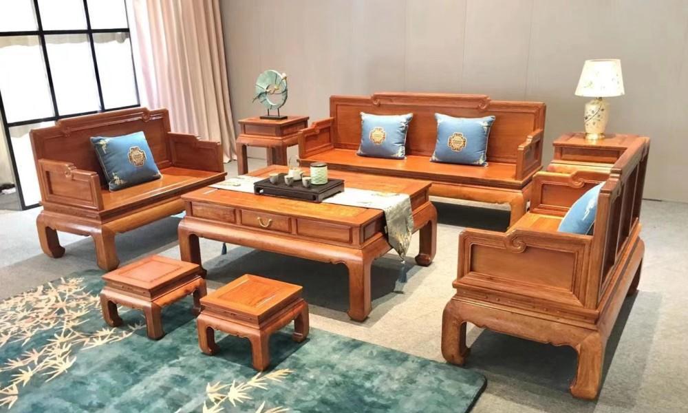 你对这样的大果紫檀国标红木沙发批发价感兴趣吗?