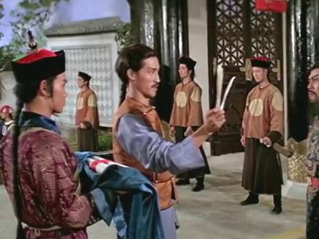 高手应邀去参观古董店,谁知对方是大将军派来的密探