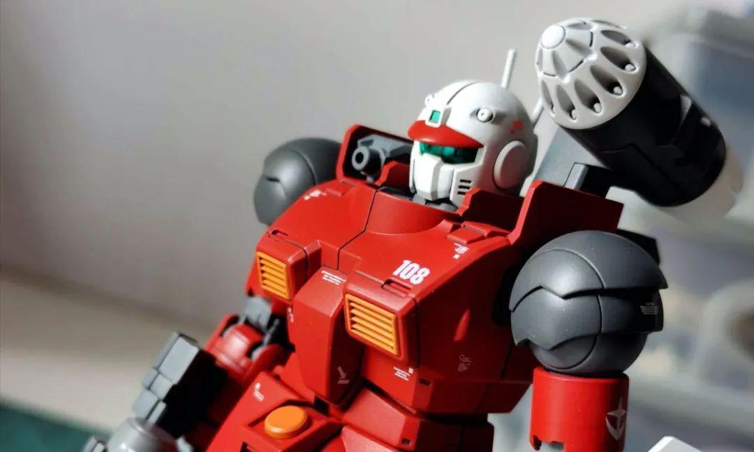 高达模型秀:钢加农终于可以与RX-78并肩作战了!
