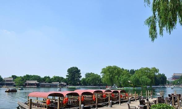 另一个大公园可以看到堪比江南水乡,免费门票却人烟稀少