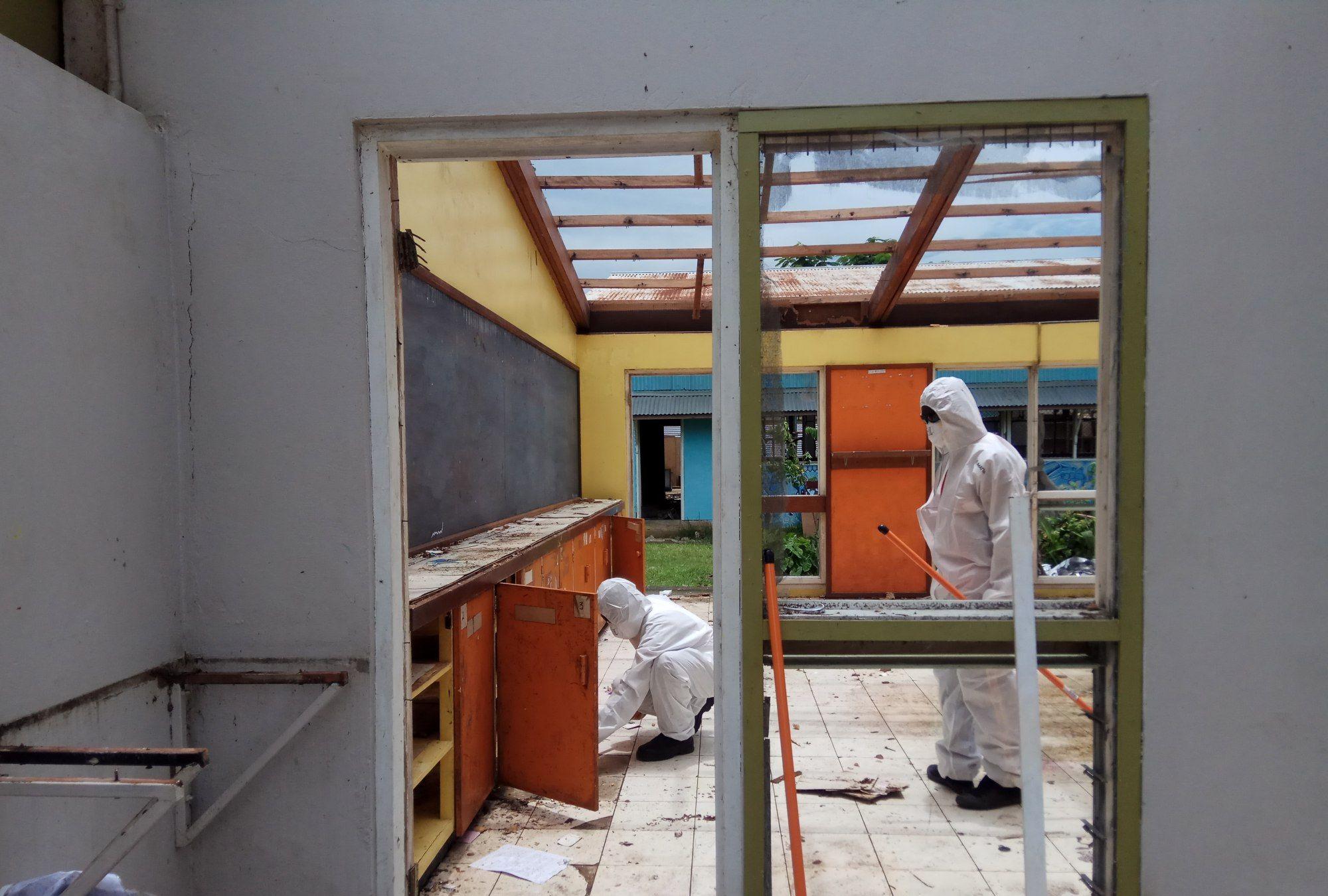 所罗门群岛——石棉清理
