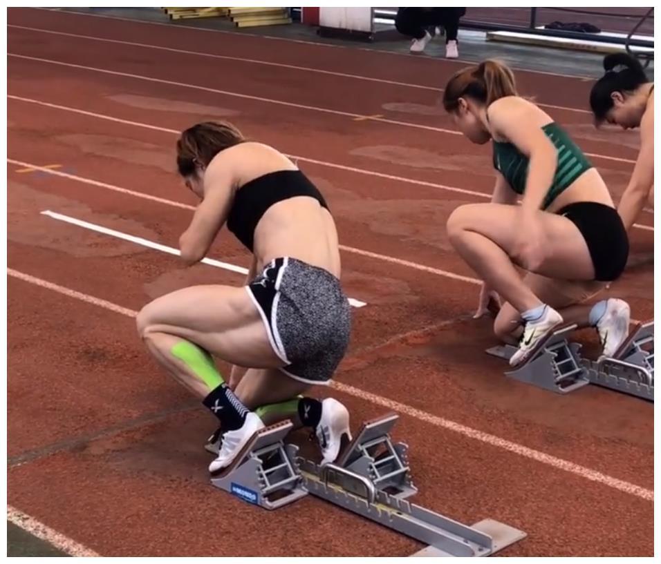 7秒47,江苏女飞人60米夺冠 被赞为金刚芭比 腿部肌肉比苏炳添壮