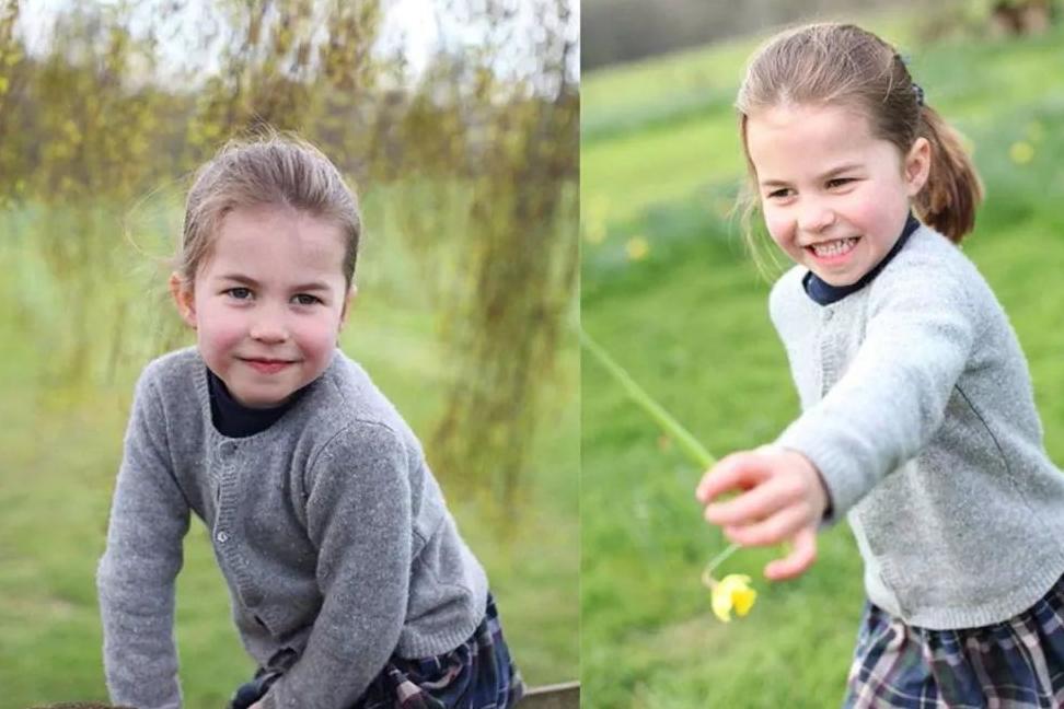 凯特王妃育儿有方,4岁夏洛特小公主穿帆布鞋,竟是哥哥小乔治的