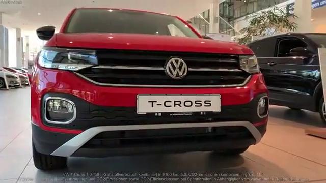 视频:2020款大众T-Cross展示视频!运动感十足!