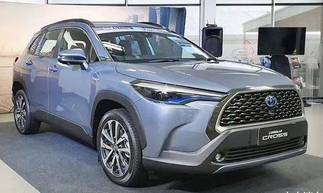 """丰田卡罗拉SUV跨界上市,号称""""小号汉兰达""""!外观炫酷时尚!"""