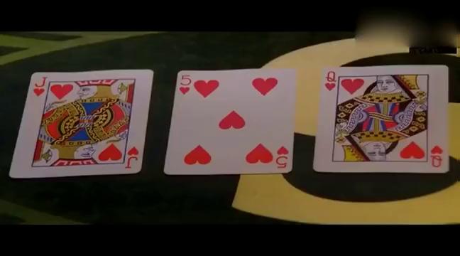 两大影帝玩德州扑克, 老刘好深的城府, 古仔以为自己赢了
