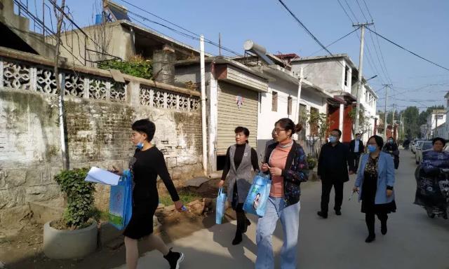 曲阜市陵城卫生院深入群众走访提升群众看病就医满意度