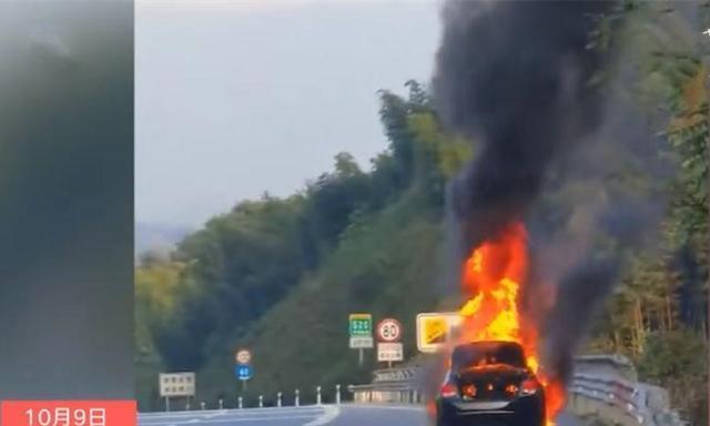 联防消防车上高速救火抢险!被收高速费!高速公路回复来了