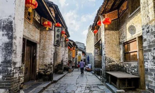 """广西名气""""最大""""的古镇,即使商业化严重,照样很多游客"""