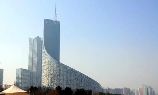合肥被公认的地标建筑,曾是合肥第一高楼,高度仅有82.55米