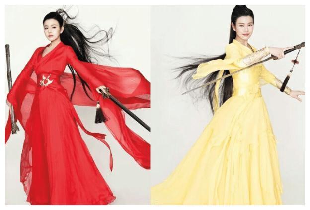 """因饰演""""小龙女""""被称""""小笼包""""的陈妍希,再次尝试古装美炸了"""