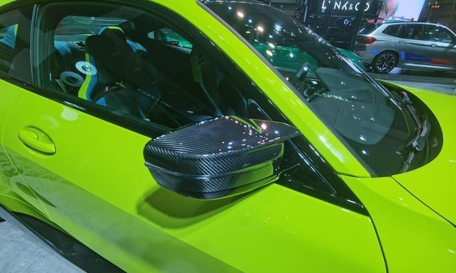 大量碳纤维加身BMW发布M3/M4高性能套件