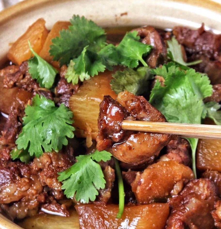 美食菜谱|羊肉炖萝卜,好吃不膻,健康又美味!
