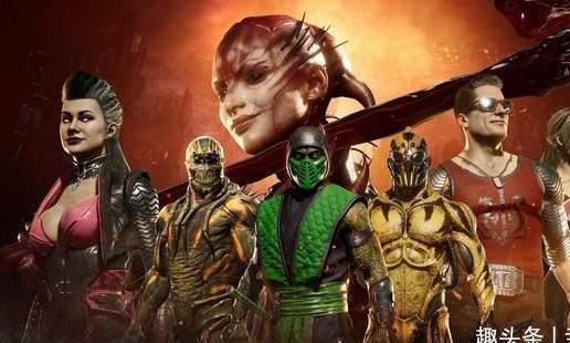 《真人快打11》新皮肤预告图公布含蝎子Reptile皮肤