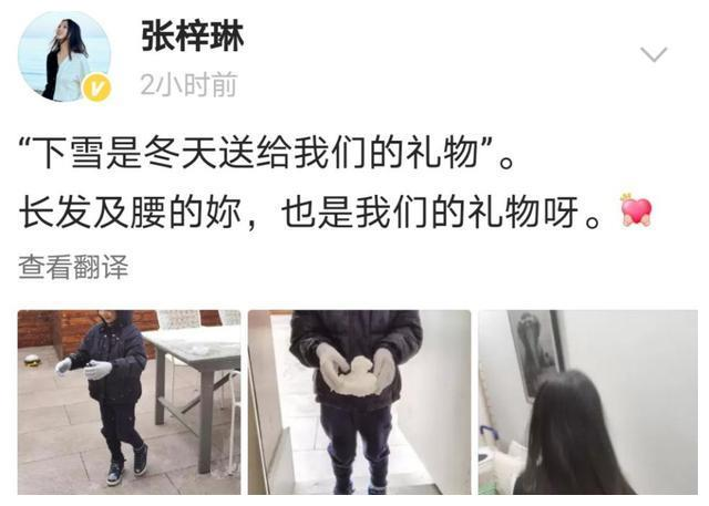 世界小姐张梓琳罕晒女,4岁胖妹身高惊人,长发及腰不似同龄人?
