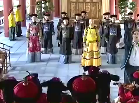 还珠格格:礼运大同篇成了宫歌,皇上下令全宫学唱,皇后也不例外