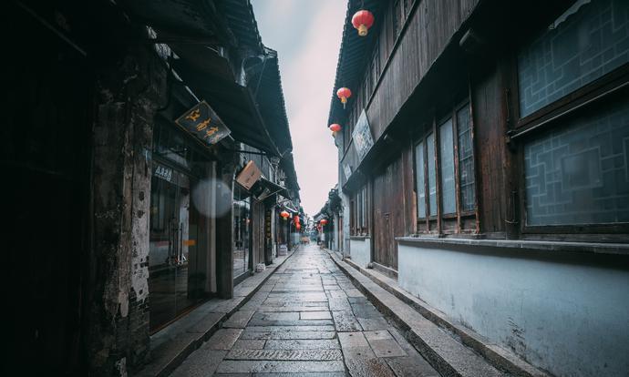 西塘古镇,雨中更显烟雨朦胧,人少景美,流连忘返
