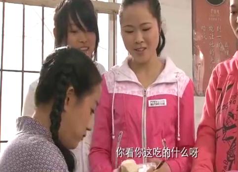 穷孩子富孩子:乔枫来学校找燕子,农村学生都夸他长得帅!