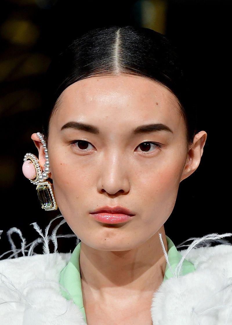 2020秋冬纽约时装周:Prabal Gurung 妆发