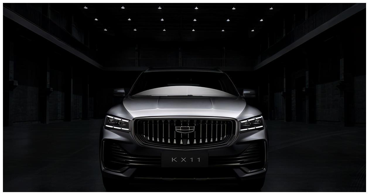吉利新旗舰,全新中型SUV官图曝光,尺寸比博越大