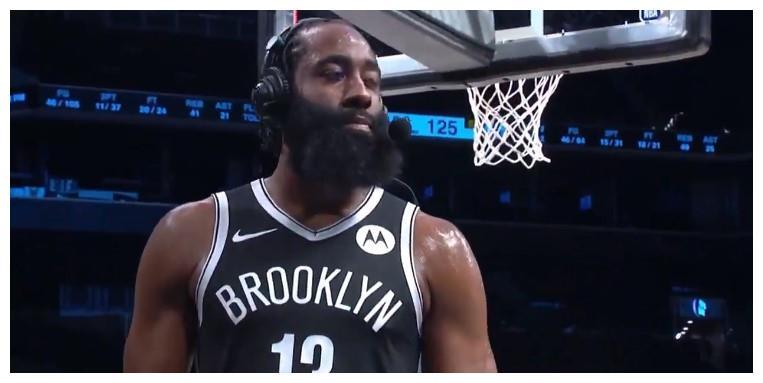 哈登无所不能!成为NBA历史第一人 赛后说出成功秘密!