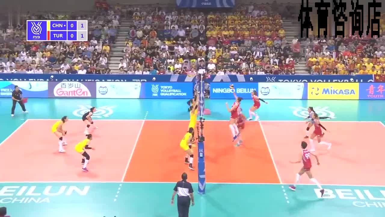 东奥预热,张常宁带你回顾,奥运资格赛vs土耳其