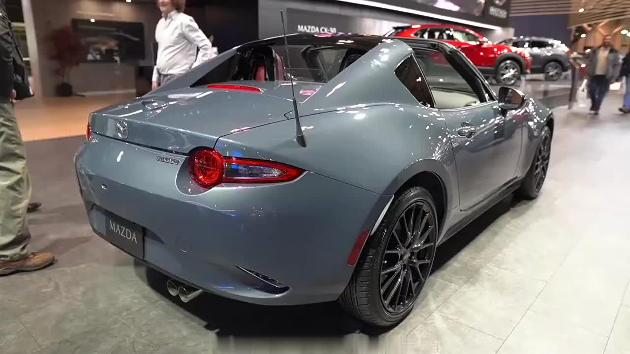 2020马自达Mx5 RF GT 外观和内饰绕车介绍