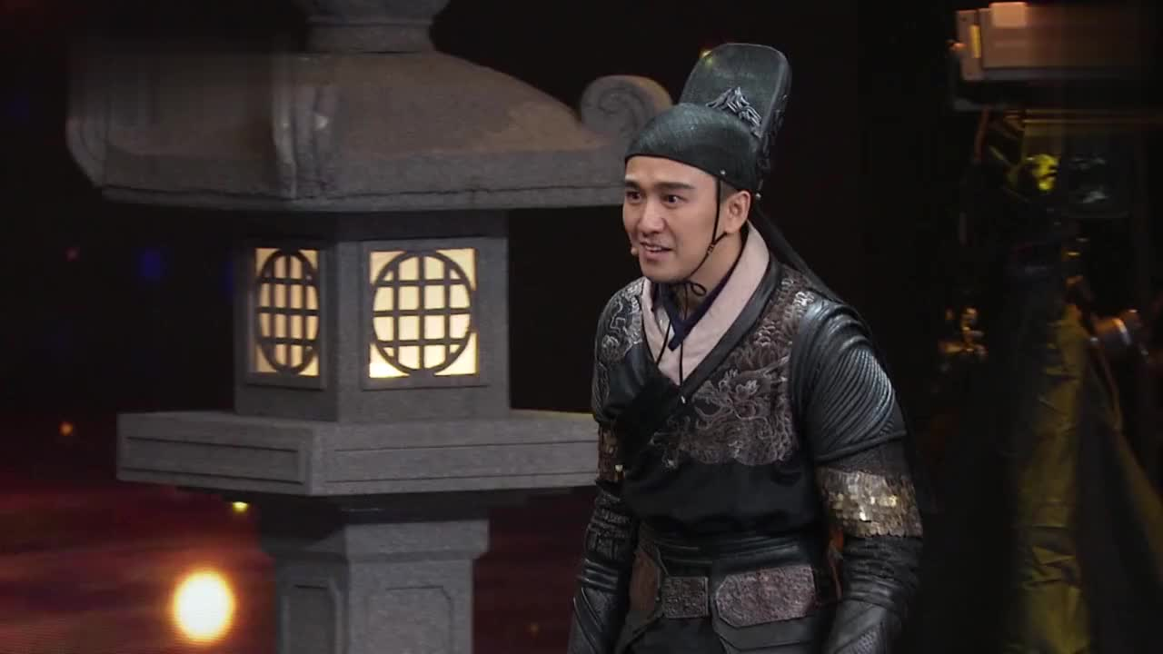 《演员的诞生》翟天临即兴表演 功底好深 好厉害!