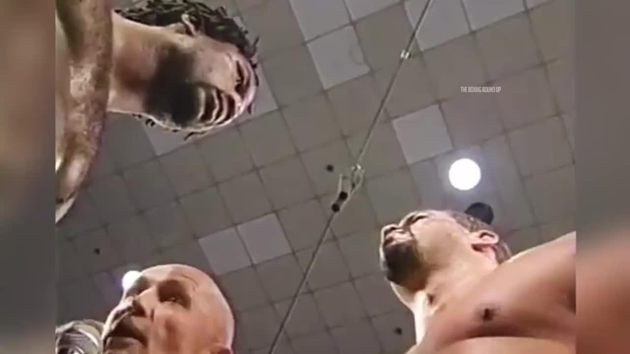 一代重量级拳王刘易斯五场最佳赛事,KO泰森是他最辉煌的胜利