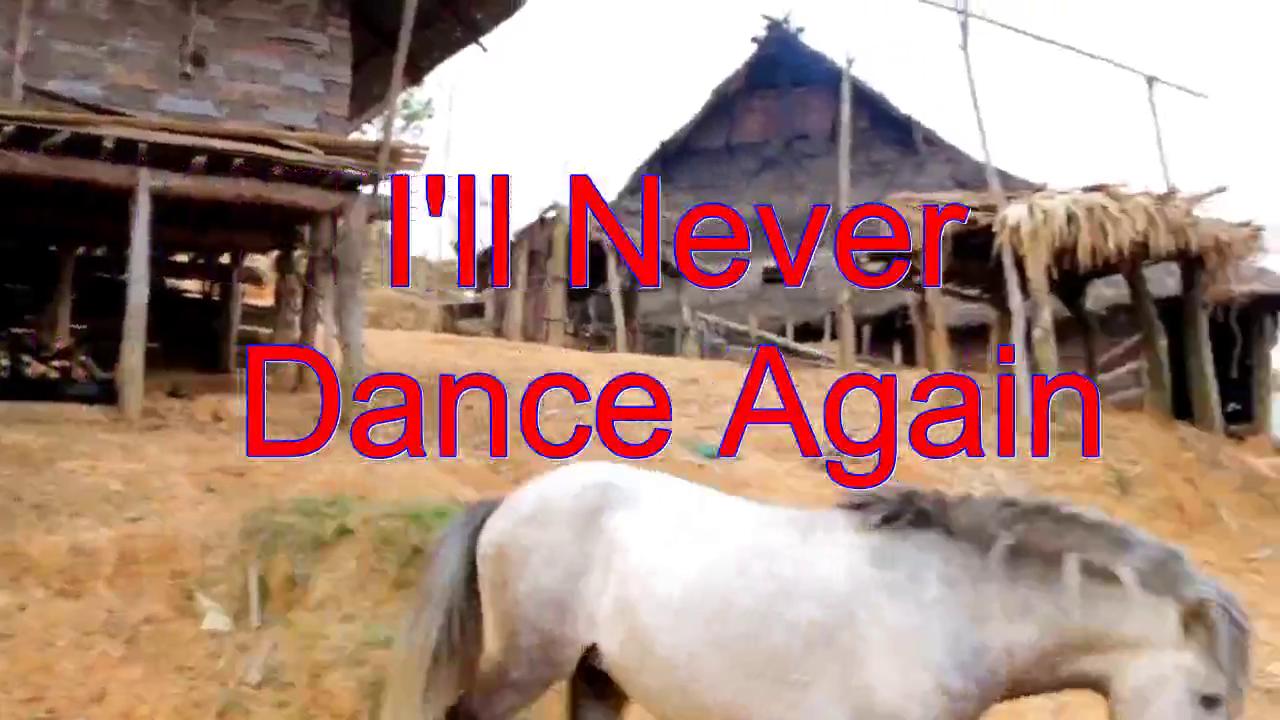 分享一首《I'll Never Dance Again》,喉清韵雅,娇音萦萦