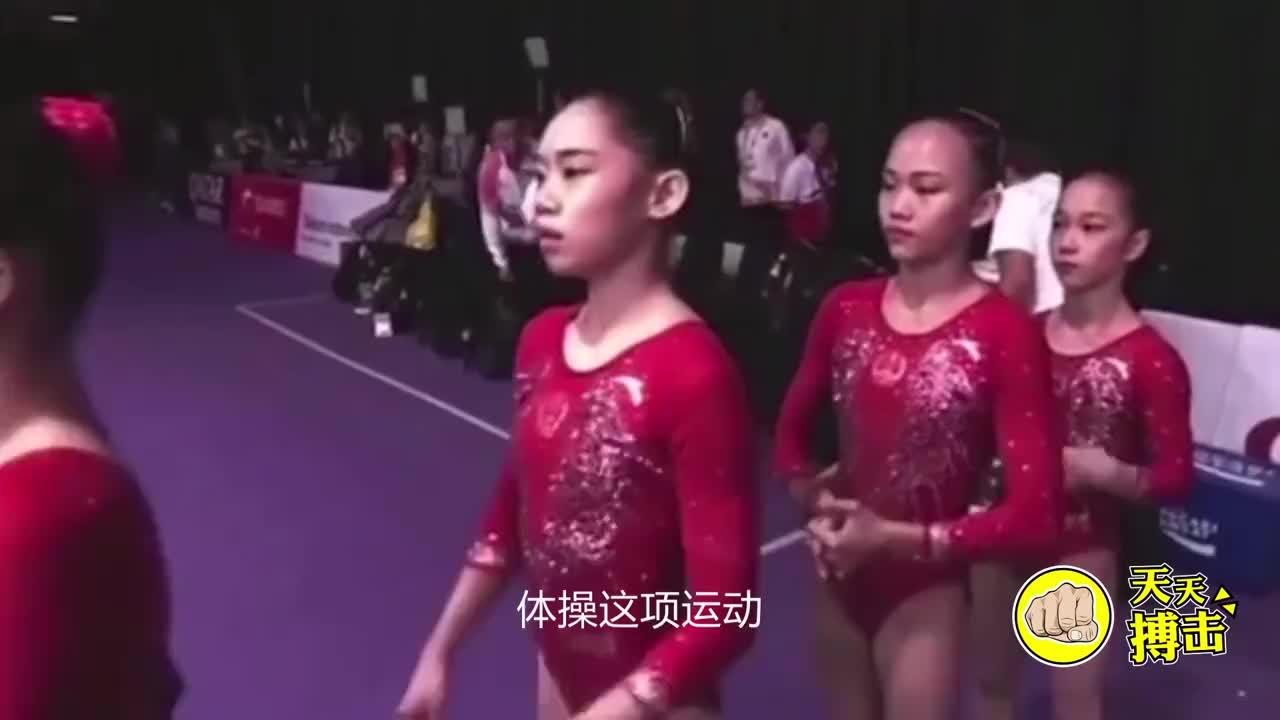 """太心疼!体操女神跳马比赛失误,落地瞬间直接""""断腿"""""""