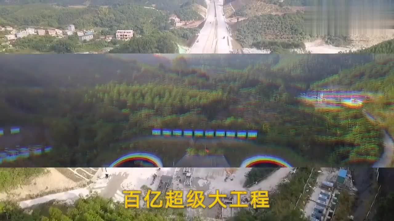 航拍广西交通新面貌,投资上百亿的超级大项目,气势不输广东