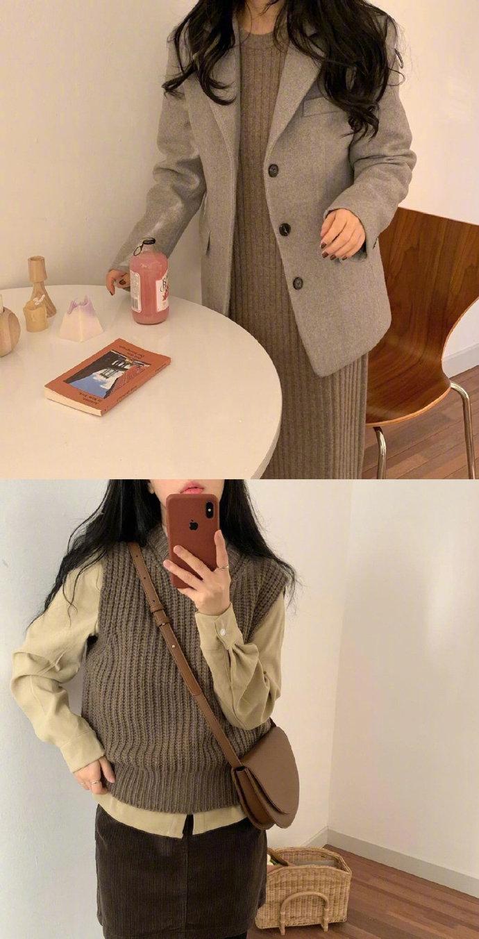 自然色系百搭穿搭指南,精致又显气质的韩系柔和风格太爱了!