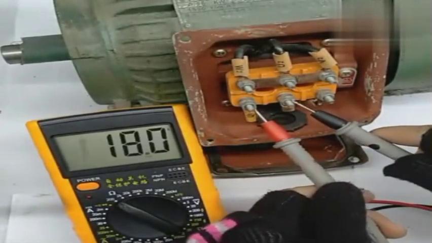 用万用表来判断三相异步电动机的好坏,你学会了吗?