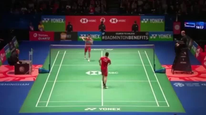 羽毛球:林丹和李宗伟两位天王正式比赛最后一个回合