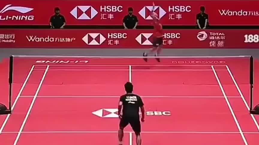 羽毛球:金廷这个回合展现的防守,直让桃田贤斗摇头