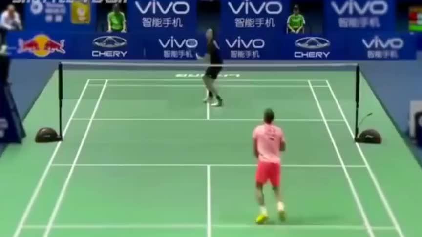 羽毛球:林丹这一球彻底将对手打服