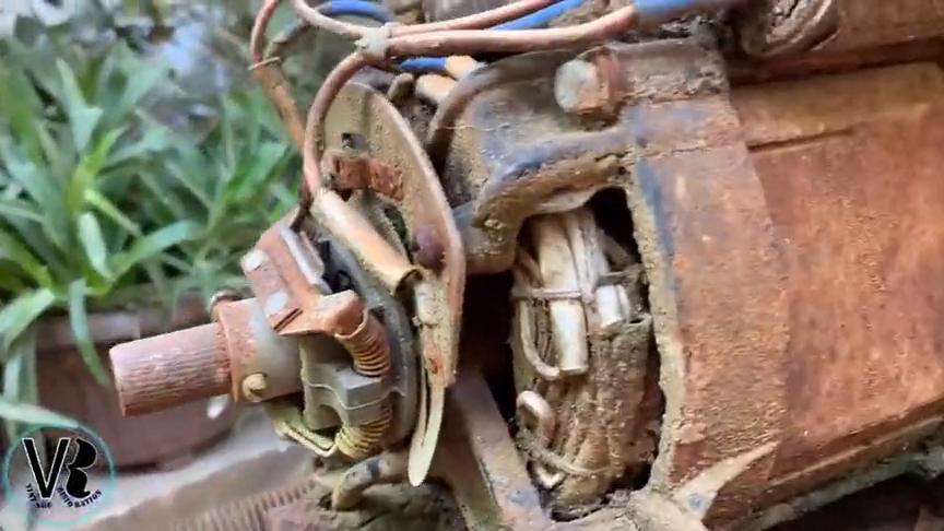 破旧的空气压缩机别扔,看看牛人是如何翻新的