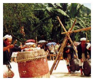 荔波瑶族猴鼓舞