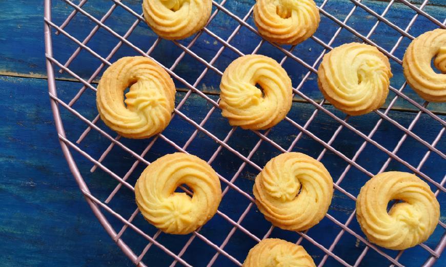 做了不下50次的曲奇方子,花纹立体,酥酥脆脆,甜而不腻!