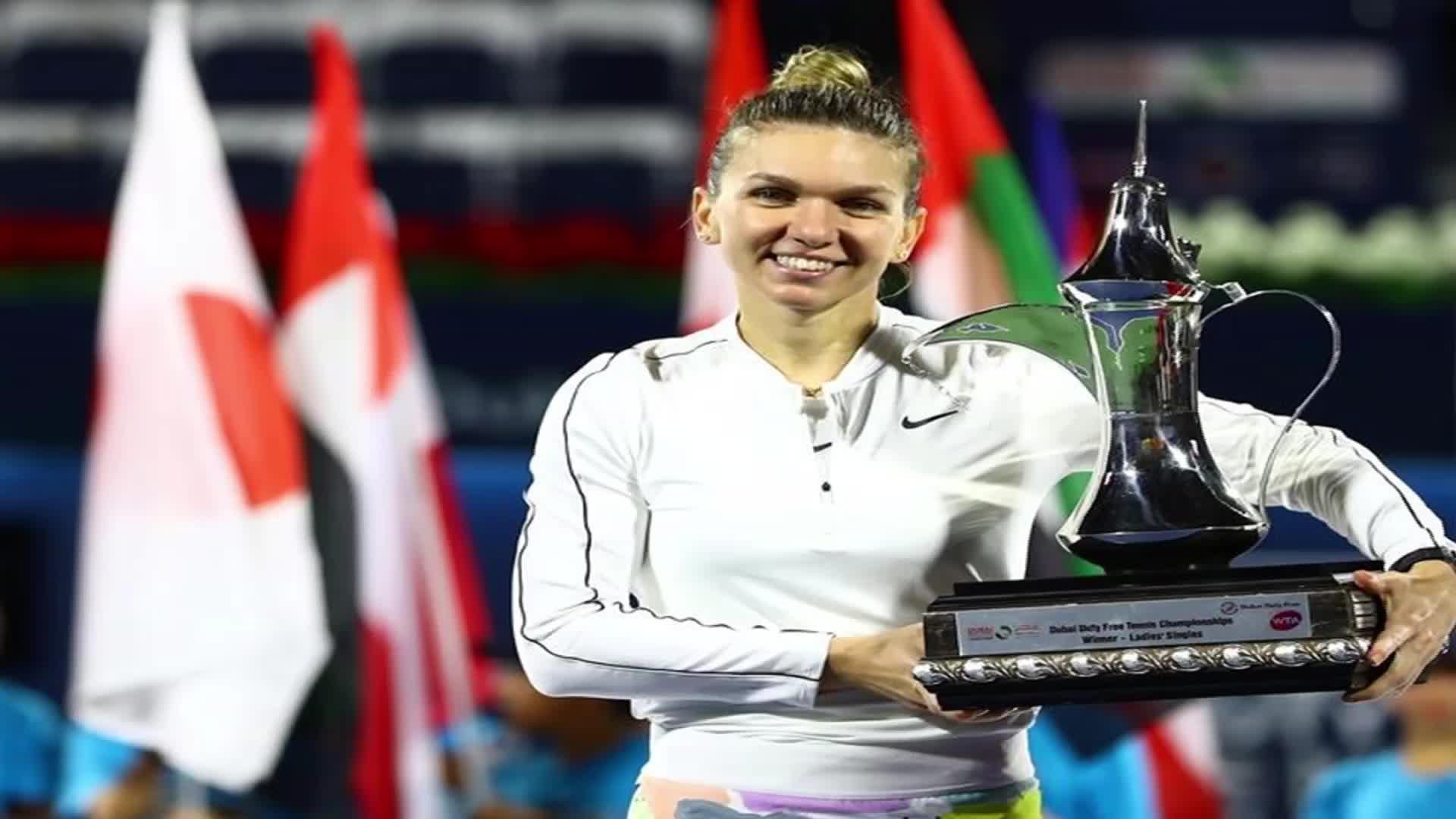哈勒普当选国际女网联二月最佳 迪拜赛斩获生涯第20冠