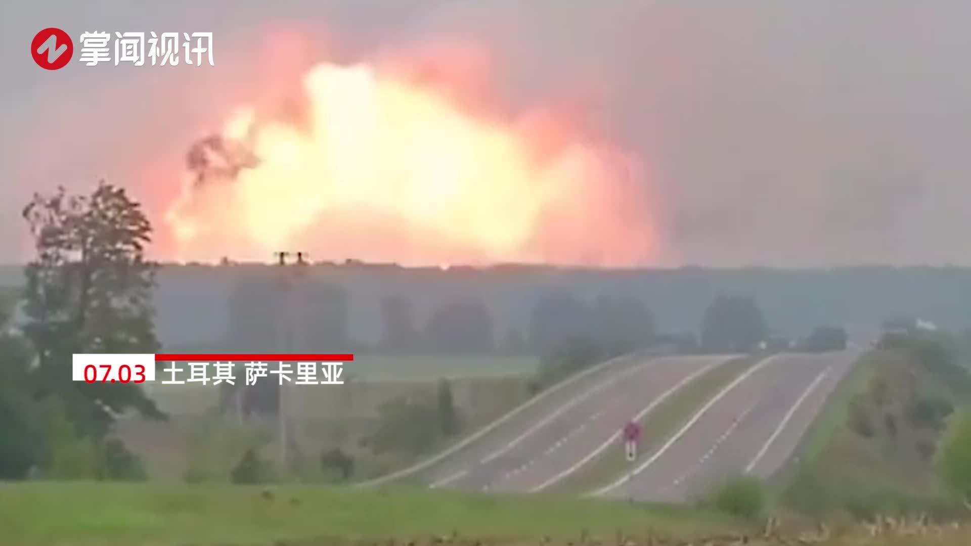 爆炸瞬间曝光!烟花厂腾起恐怖蘑菇云 致4人死亡超百人受伤