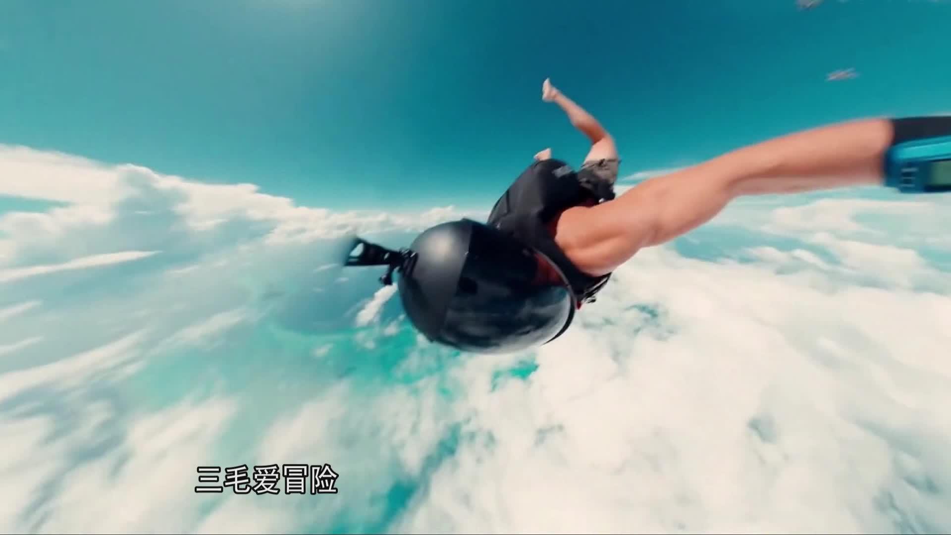 先跳伞后潜水,才能进入的伯利兹大蓝洞下面究竟有什么?