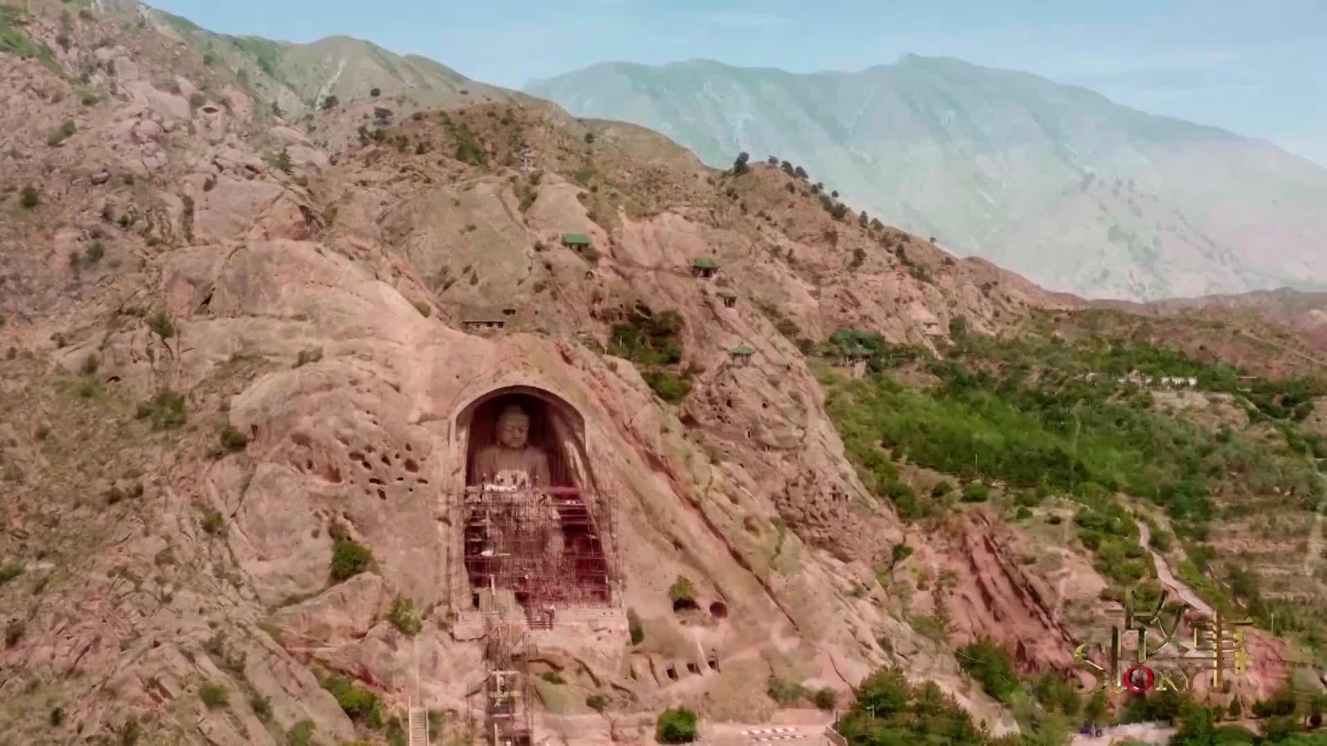 一窟一时代,1500年前的须弥山石窟,从这里走向艺术巅峰