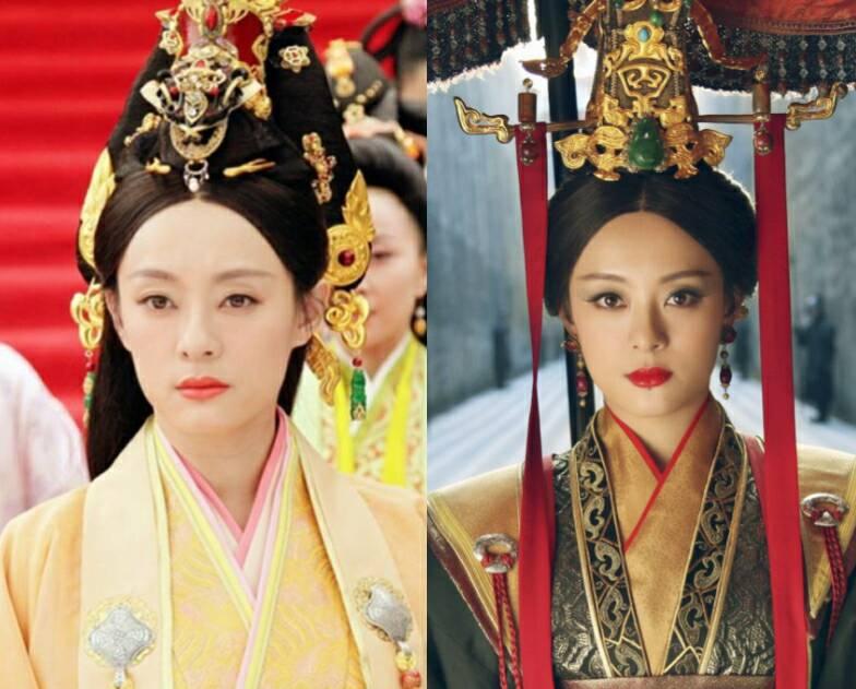 各路嫔妃变太后前后对比照:甄嬛叶凝芝变口红色号,莲姬挽起卷发