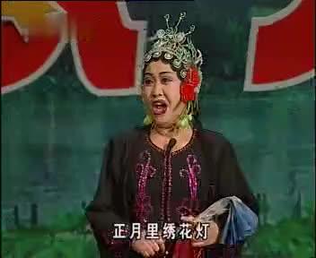 孙文学、李桂艳二人转小帽《绣花灯》,这个小帽很考验嘴皮子功夫