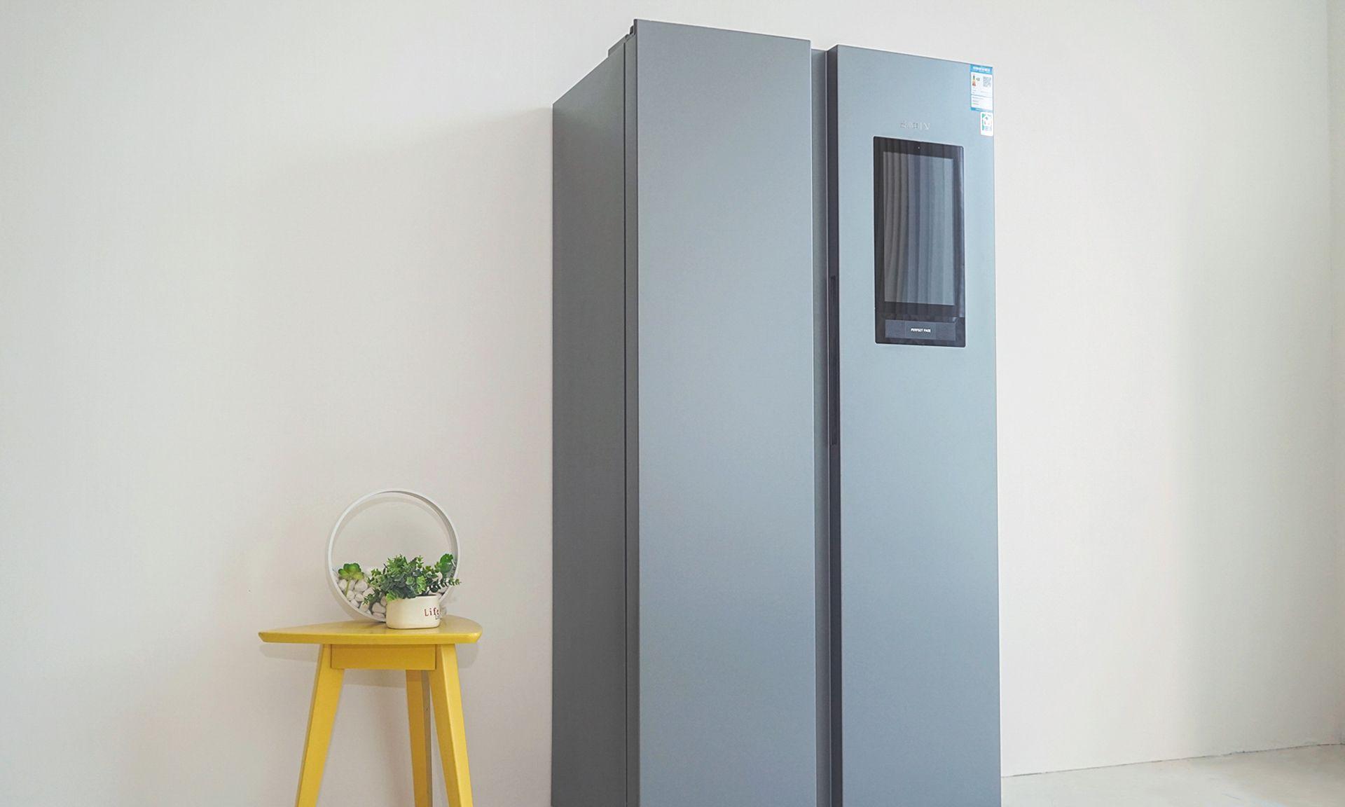 带你玩转厨房,云米互动大屏冰箱图赏