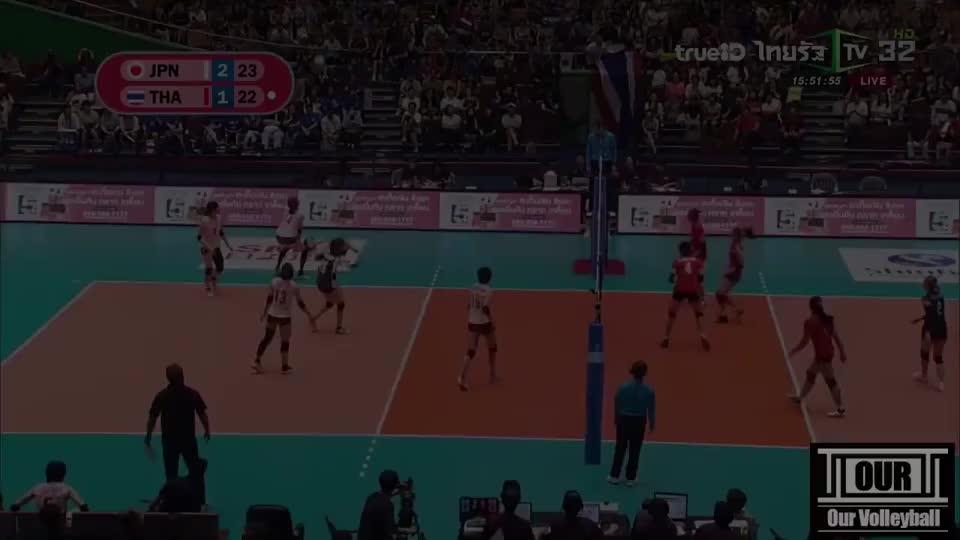 """塔达奥!""""美爆""""了!2019女排亚锦赛精彩集锦!"""
