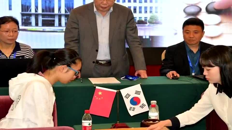 世界女子围棋团体赛中国两连胜 第一阶段4胜1负领先日韩